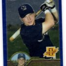 Kade Johnson RC Trading Card Single 2003 Topps Chrome Traded #T226 Brewers
