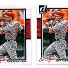 Josh Hamilton Trading Card Lot of (2) 2014 Donruss #74 Angels