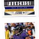 Ray Rice Franchise Trading Card Lot of (2) 2013 Score #269 Ravens