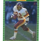 Jamie Morris Trading Card 1989 Pro Set #438 Redskins