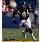 Darren Gordon RC Trading Card Single 1993 Pro Set #388 Chargers