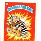 Electric Bill License Back Sticker Card 1985 Topps Garbage Pail Kids UK Mini #4b