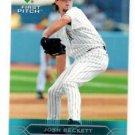 Josh Beckett Trading Card Single 2005 Upper Deck First Pitch #78 Marlins