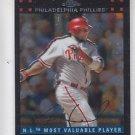 Ryan Howard Trading Card Single 2007 Topps Chrome #257 Phillies