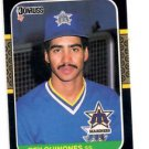 Rey Quinones RC Trading Card Single 1987 Donruss #638 Mariners
