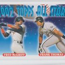Frank Thomas Fred McGriff Trading Card Single 1993 Topps #401 AS