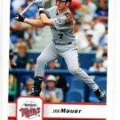 Joe Mauer Trading Card Single 2006 Fleer #360 Twins