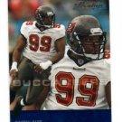 Warren Sapp Trading Card Single 2003 Playoff Prestige #140 Buccaneers