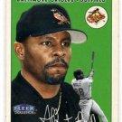 Albert Belle Trading Card Single 2000 Fleer Tradition #258 Orioles