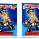 Ejected Elwood Jazzy Jake 80s Spoof Lot 2015 Topps Garbage Pail Kids #19a 19b