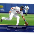 Jose Reyes Trading Card Single 2005 Upper Deck First Pitch #129 Mets