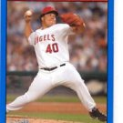 Bartolo Colon Blue Parallel Trading Card 2006 Topps Bazooka #122 Angels
