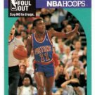 Isiah Thomas Don't Foul Out Trading Card 1990-91 NBA Hoops #389 Pistons NMMT