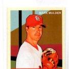 Mark Mulder Trading Card Single 2007 Upper Deck Goudey Red Mini #25 Cardinals
