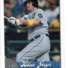 Troy Glaus Trading Card Single 2007 Fleer #17 Blue Jays