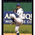 Octavio Dotel Red Back Trading Card 2007 Topps #478 Royals
