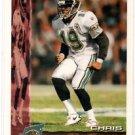 Chris Hudson Trading Card Single 1996 Bowman #101 Jaguars