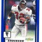 Jamal Anderson Trading Card Single 2001 Score #9 Falcons
