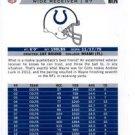Reggie Wayne Franchise Trading Card Single 2013 Score #280 Colts