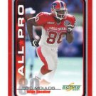 Eric Moulds All Pro Trading Card Single 2001 Score #227 Bills