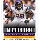 Adrian Peterson Franchise Trading Card Single 2013 Score #284 Vikings