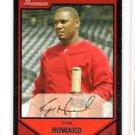 Ryan Howard Trading Card Single 2007 Bowman #50 Phillies