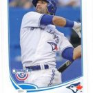 Jose Bautista Trading Card Single 2013 Topps Opening Day #207 Blue Jays