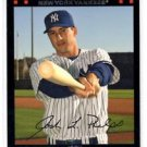 Josh Phelps Red Back Trading Card Single 2007 Topps #515 Yankees