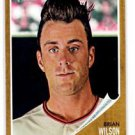Brian Wilson Trading Card Single 2011 Topps Heritage #155 Giants