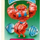 Muscular Molly Sticker 1986 Topps Garbage Pail Kids #147b