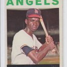 Charlie Dees Trading Card 1964 Topps #159 Angels EX+  Scratched *BILL