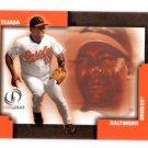 Miguel Tejada Trading Card Single 2004 Fleer Legacy #56 Orioles