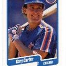 Gary Carter Trading Card Single 1990 Fleer #199 Mets