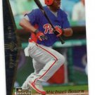 Michael Bourn RC Trading Card Single 2007 UD SP Rookie Edition #146 Phillies