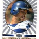Carlos Beltran Game Face Trading Card Single 2003 Upper Deck #52 Royals