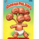 Kitty Litter Sticker 1986 Topps Garbage Pail Kids #159a