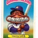 Tooth Les Sticker 1986 Topps Garbage Pail Kids #140b NMT