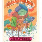 Brushed-Off Brenda Sticker 1986 Topps Garbage Pail Kids #97b