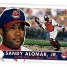 Sandy Alomar Jr Trading Card Single 2001 Fleer Tradition #280 Indians