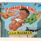 Clean Maureen Sticker 1986 Topps Garbage Pail Kids #242a NMT+