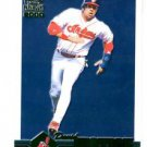 David Justice Green Parallel SP 2000 Pacific Paramount #70 Indians