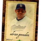 Adrian Gonzalez Trading Card Single 2007 UD Artifacts #63 Padres