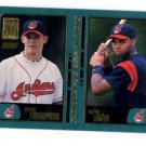 Derek Thompson RC Trading Card Single 2001 Topps #360 Indians