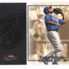 Carlos Delgado Trading Card 2003 Fleer Patchworks #63 Blue Jays