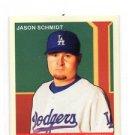 Jason Schmidt Trading Card Single 2007 UD Goudey #53 Dodgers