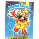 April Showers License Back Sticker Card 1985 Topps Garbage Pail Kids UK Mini #7b