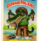 Marshy Marshall Sticker 1986 Topps Garbage Pail Kids #100b
