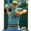 Don Sutton Trading Card Single 1984 Fleer #215 Brewers NMMT