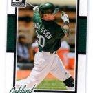 Josh Donaldson Trading Card Single 2014 Donruss #97 Athletics