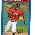 Charlton Jimerson RC Blue Fortune SP 2006 Topps Bazooka #209 Astros